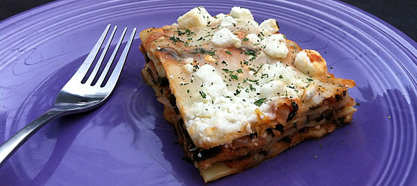 Photo or lasagna